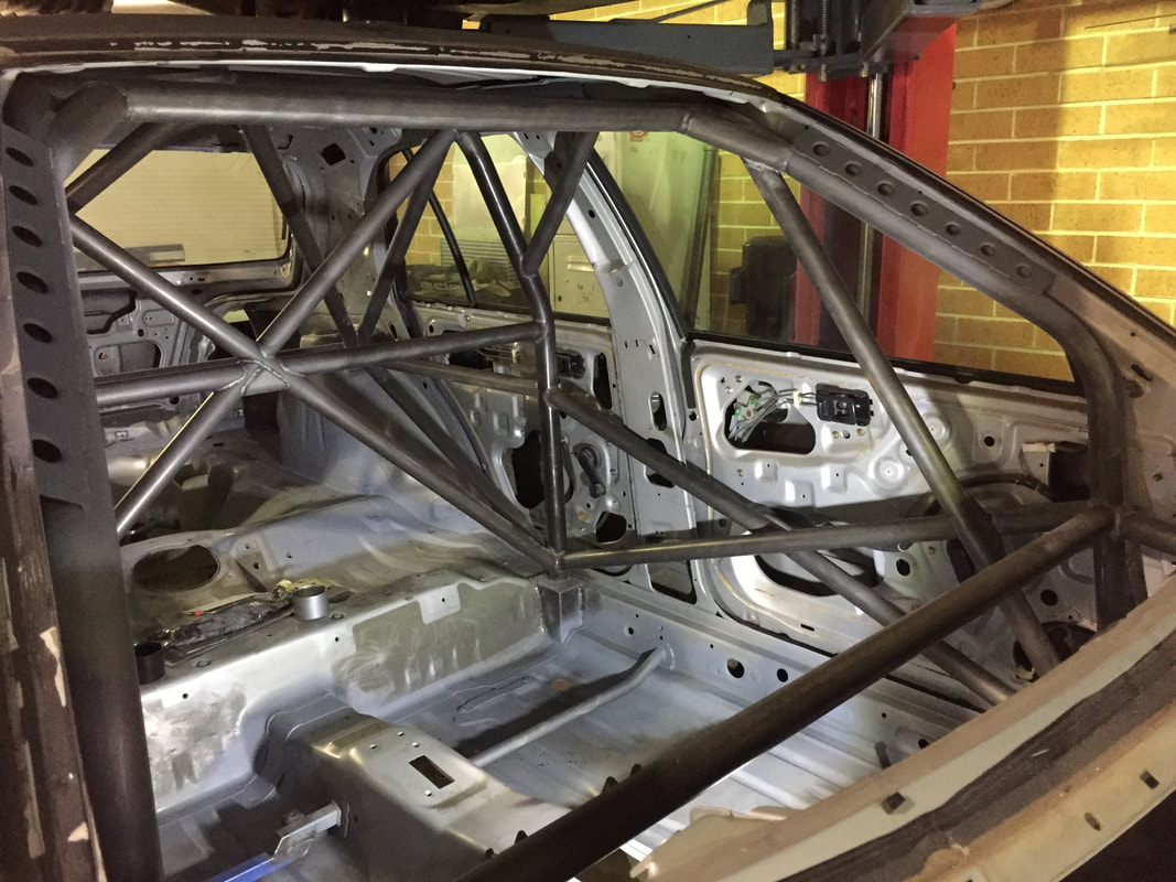 Roll Cage Design & Fabrication | Evolution Motorsport Sydney